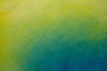Transición del amarillo al azul