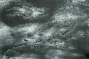 Nubes y Luna