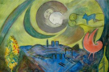 Mujer y Luna
